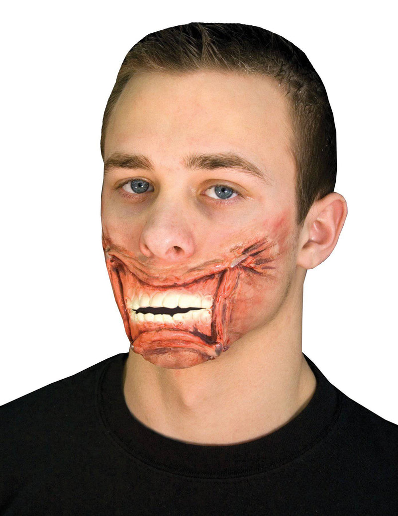 Cinema Secrets Woochie Stapled Mouth Adult Latex Accessory - Costume Arena