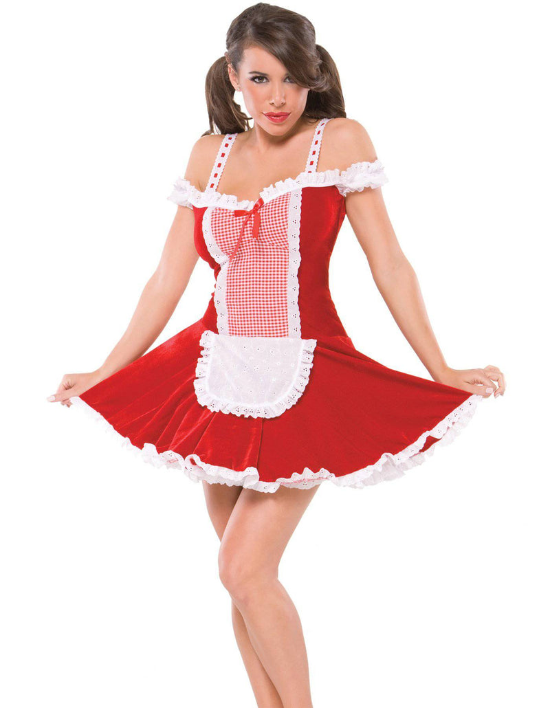 Coquette Women's Red Riding Hood Sexy Party Costume - Costume Arena