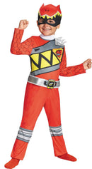 Disguise Boys' Red Ranger Movie Theme Party Costume - Costume Arena