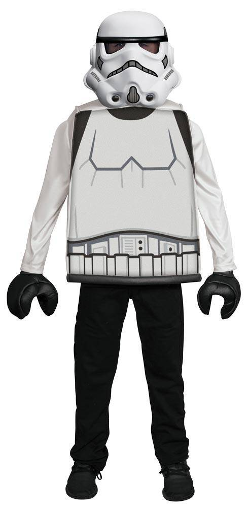 Disguise Boys' Stormtrooper LEGO Classic Costume - Costume Arena
