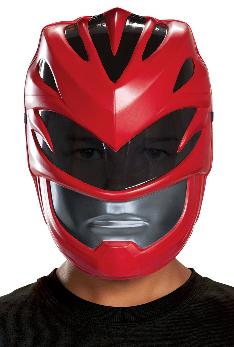 Disguise Children's Red Ranger Vacuform Theme Mask - Costume Arena
