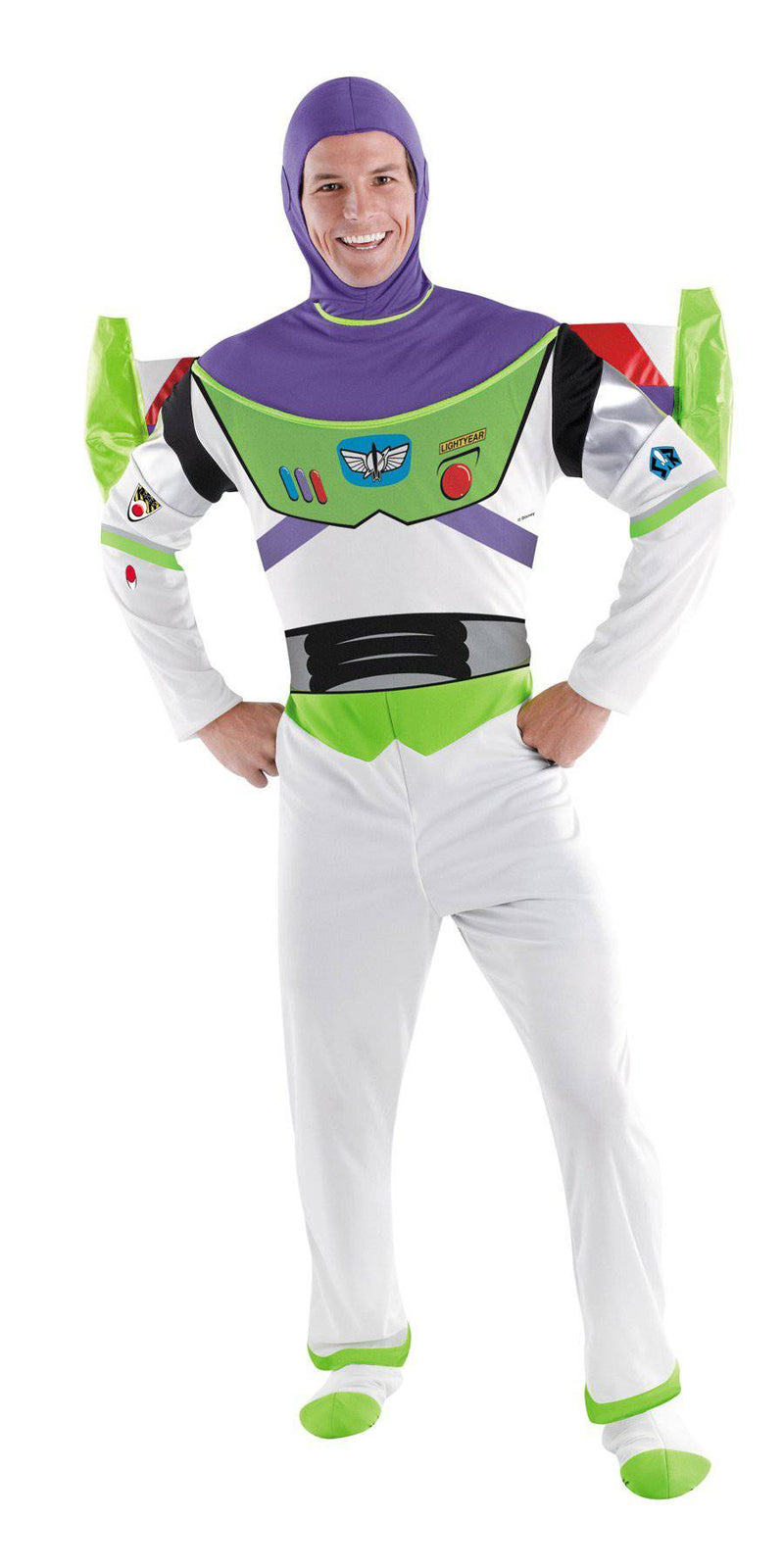 Disguise Men's Deluxe Buzz Lightyear Adult Costume - Costume Arena