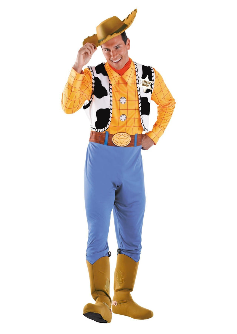 Disguise Men's Deluxe Woody Toy Story Adult Costume - Costume Arena