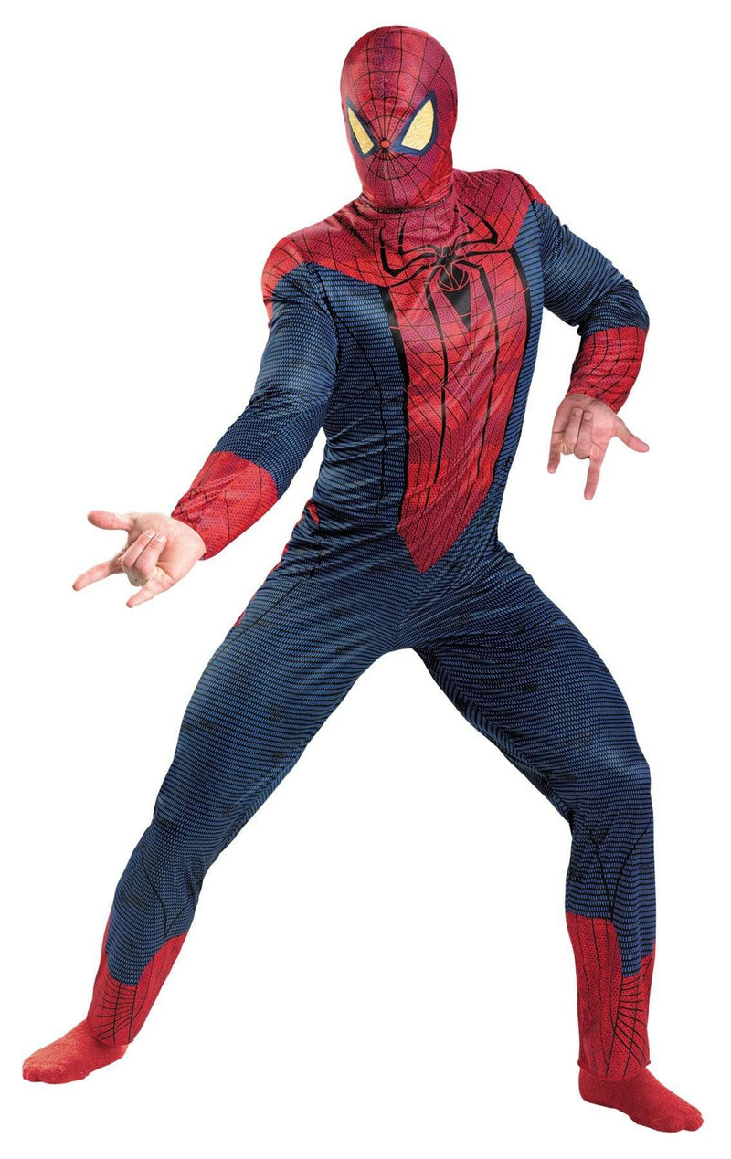 Disguise Men's Spider-Man Movie Theme Party Costume - Costume Arena