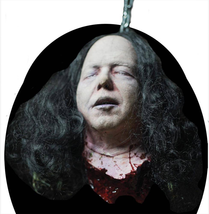 Distortions Unlimited Kirk Cut Off Head Scary Theme Decoration - Costume Arena