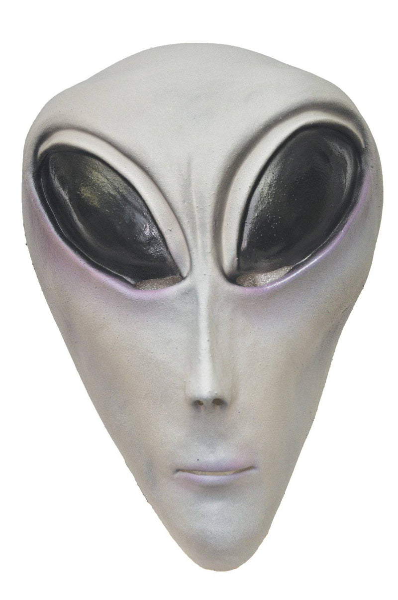 Distortions Unlimited Ufo Grey Alien Theme Halloween Scary Mask - Costume Arena