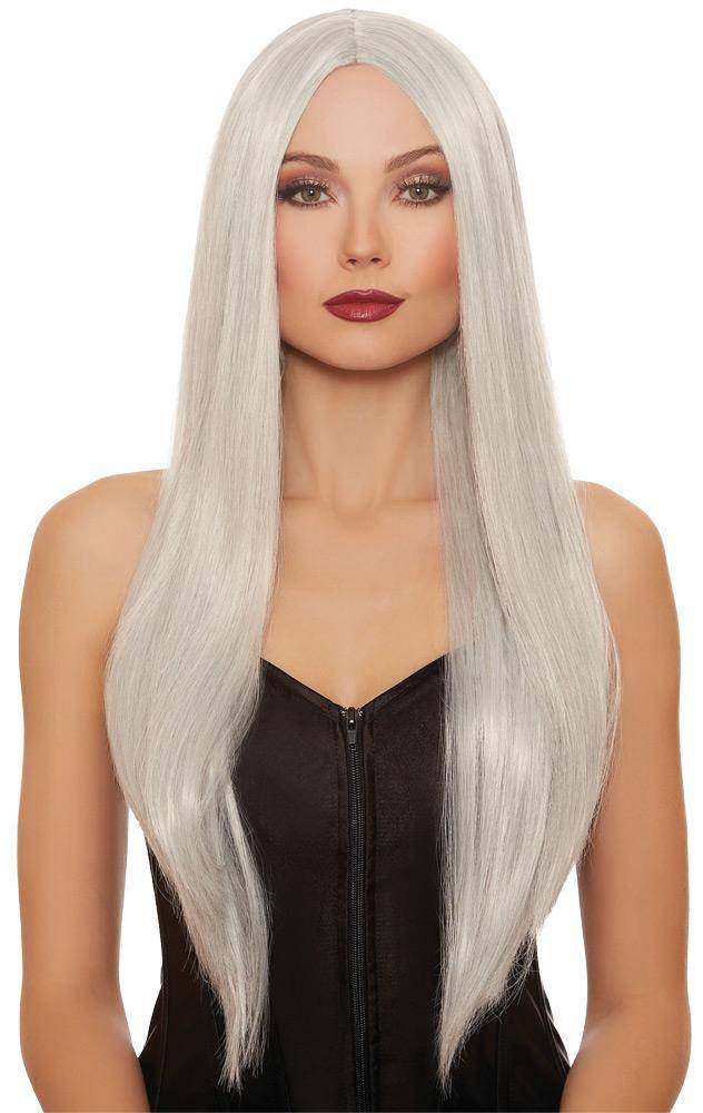 Dreamgirl Extra-Long Midnight Straight Wig Accessory - Costume Arena
