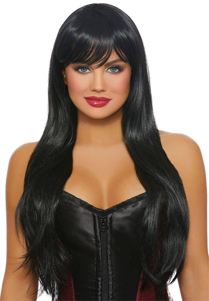 Dreamgirl Long Straight Layered Wig Vampire Accessory - Costume Arena