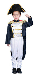 Dress Up America Boys' Colonial General Theme Party Costume - Costume Arena