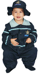 Dress Up America Boys' Police Officer Bunting Infant Costume - Costume Arena