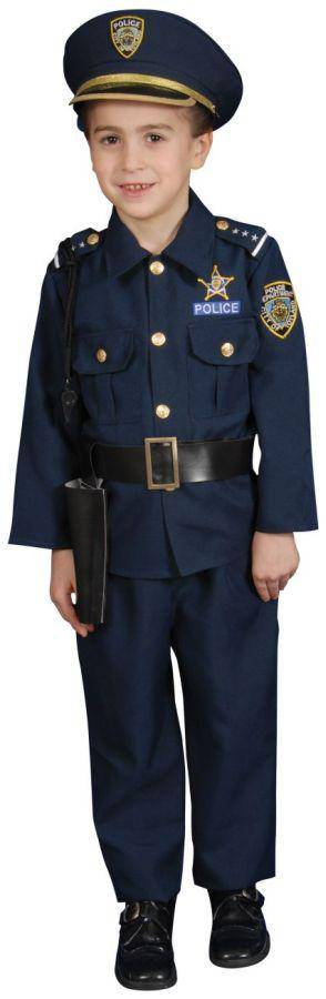 Dress Up America Boys' Police Officer Theme Child Costume - Costume Arena