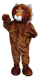 Dress Up America Tiger Mascot Funny Halloween Adult Costume - Costume Arena