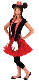 elope Disney Minnie Hoodie Scarf Funny Accessory - Costume Arena