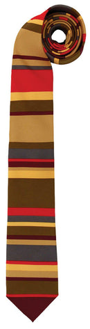 elope Doctor Who 4Th Doctor Necktie Accessory - Costume Arena