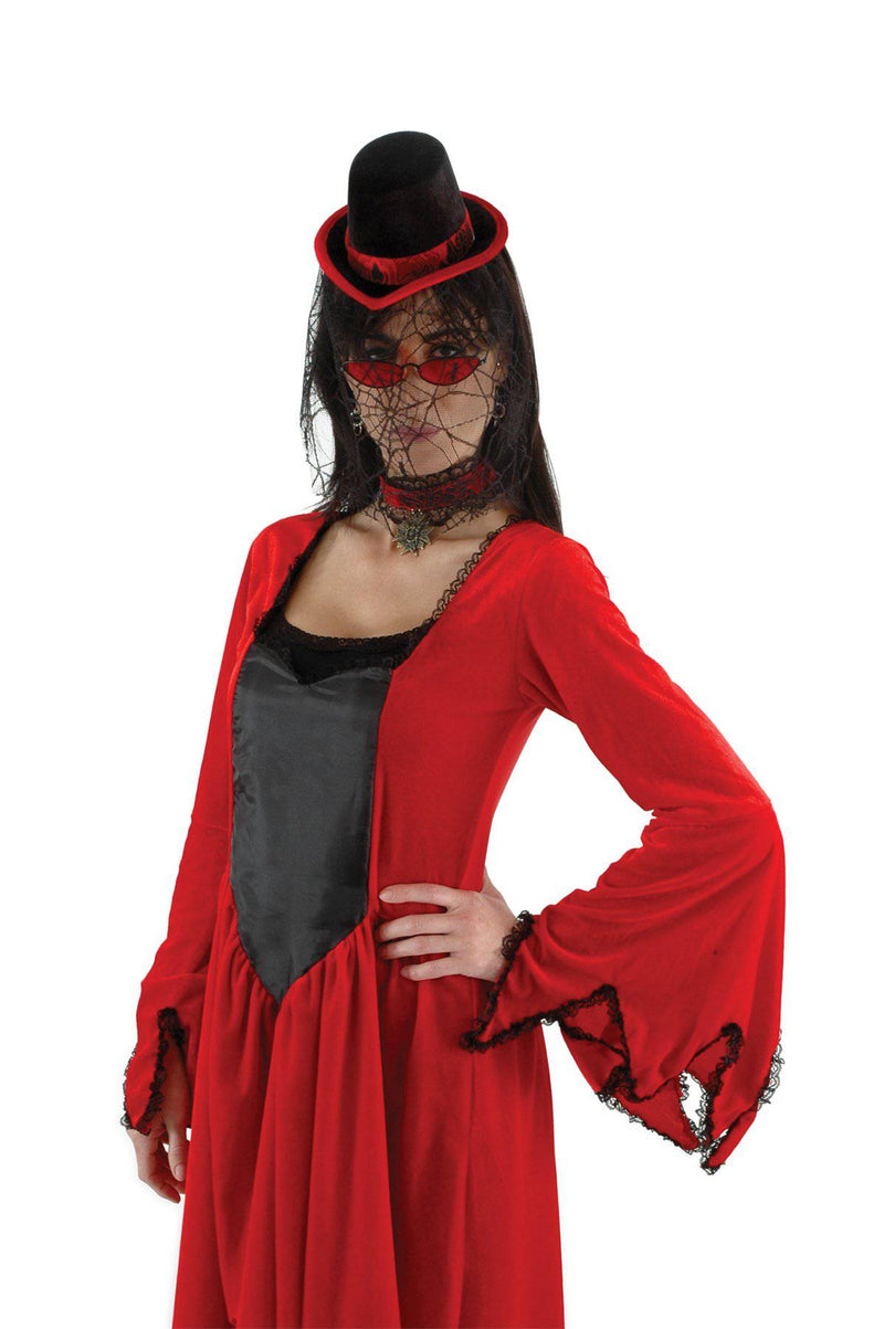 elope Sexy Vampiress Kit Victorian Adult Accessory - Costume Arena