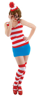 elope Women's Where's Waldo Dress Funny Costume - Costume Arena