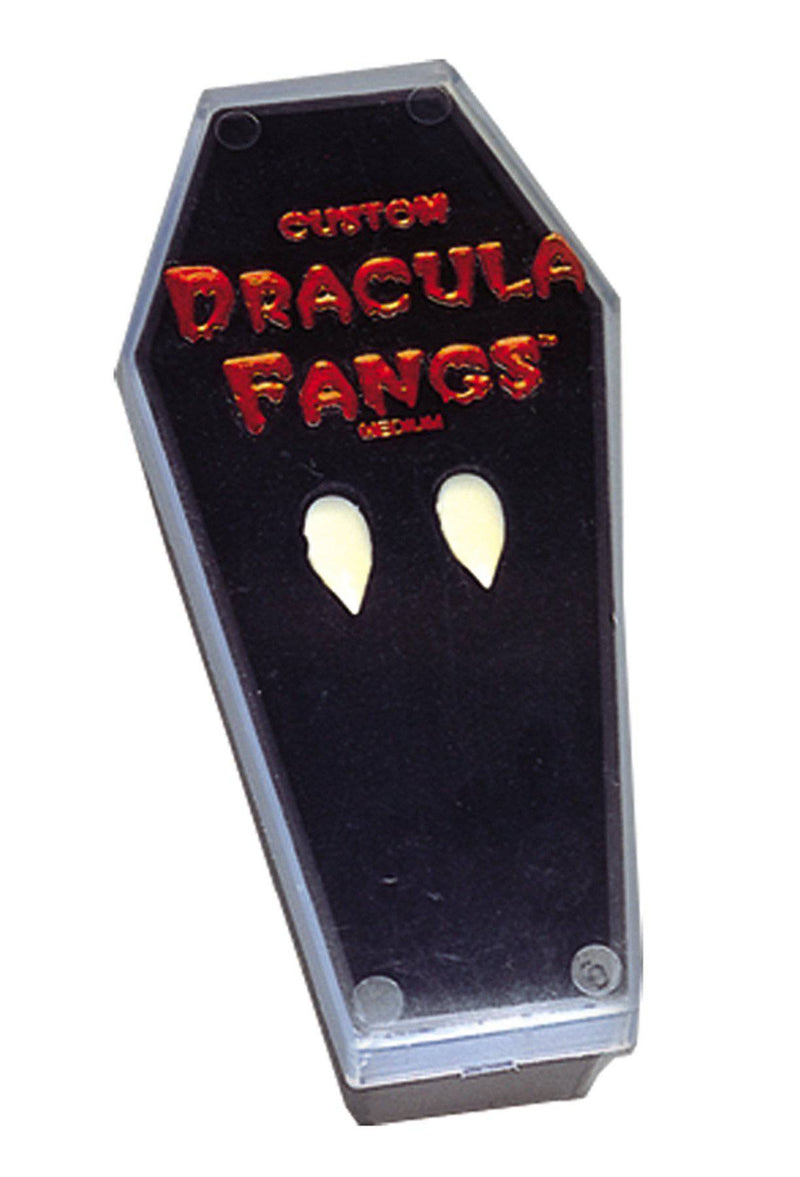 Foothills Creations Vampire Fangs In Coffin Scary Accessory - Costume Arena