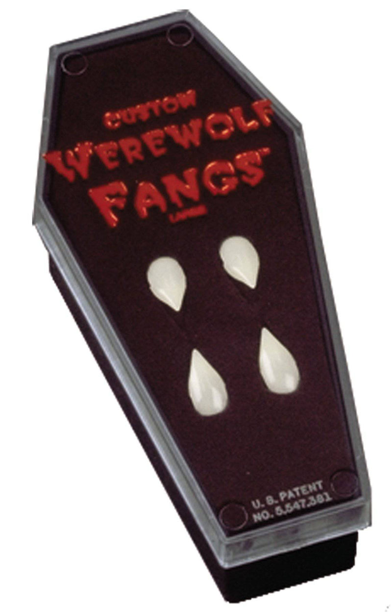 Foothills Creations Werewolf Fangs In Coffin Theme Accessory - Costume Arena