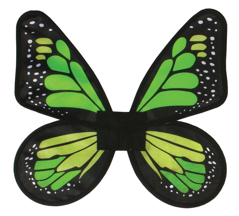 Fun World Adult Satin Butterfly Wing Costume Accessory - Costume Arena