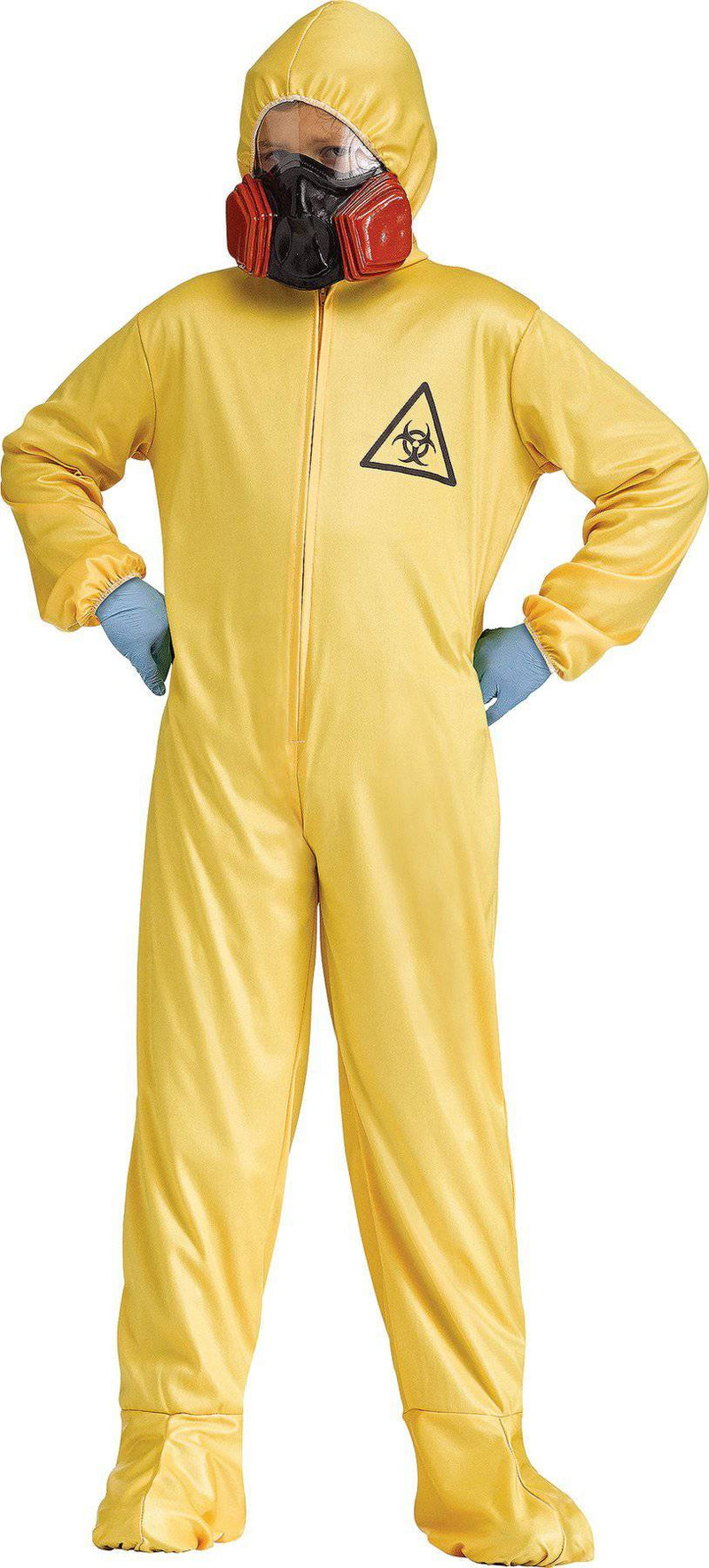 Fun World Child Hazmat Suit Hooded Party Fancy Costume - Costume Arena