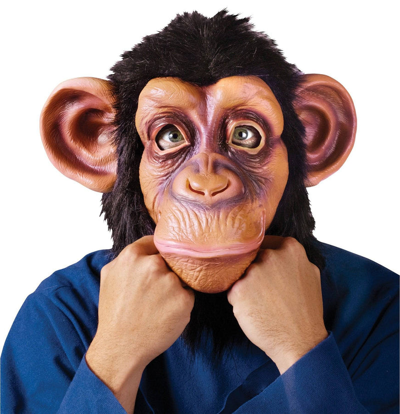 Fun World Comic Chimp Mask - The Lazy Song Halloween - Costume Arena