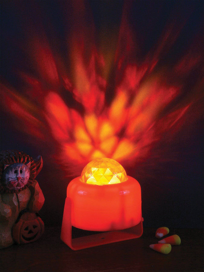 Fun World Flaming Pumpkin Light Theme Party Decoration - Costume Arena