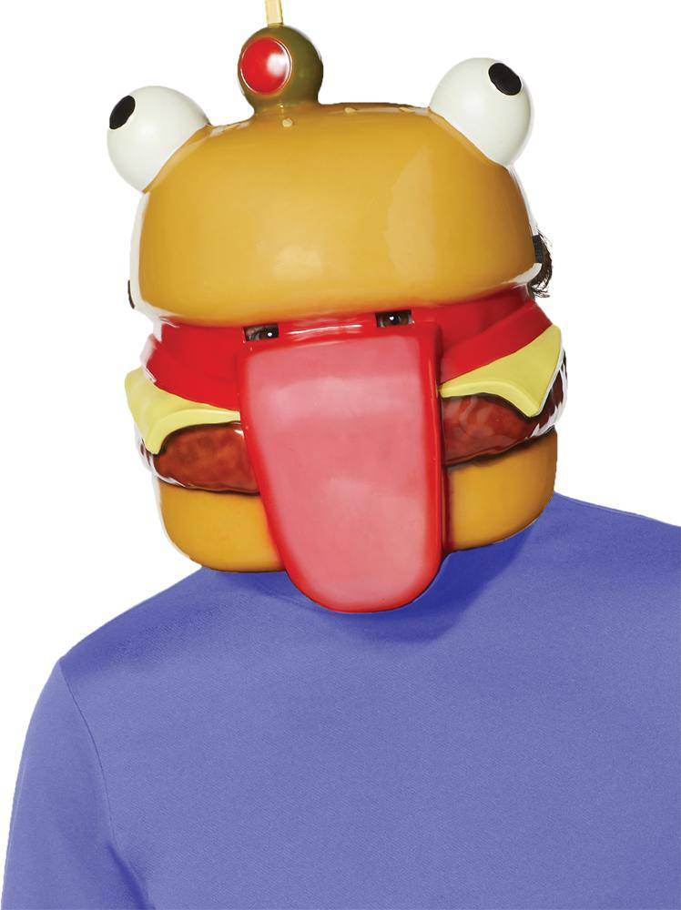 Fun World Fortnite Beef Boss Funny Theme Costume Mask - Costume Arena