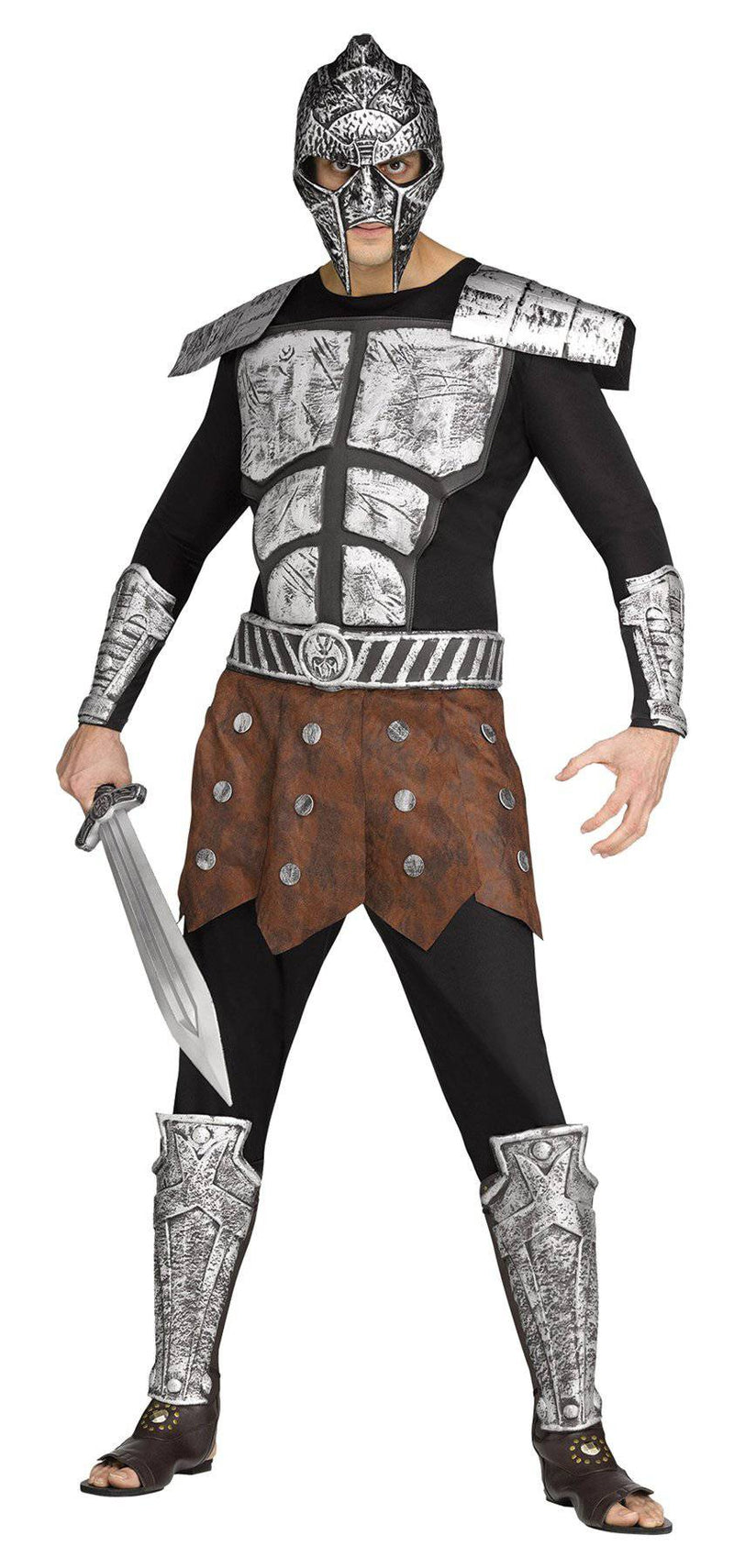 Fun World Gladiator Career Party Adult Fighter Costume - Costume Arena