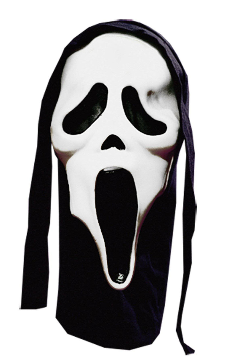 Fun World Glowing Scream Horror Movie Theme Party Mask - Costume Arena
