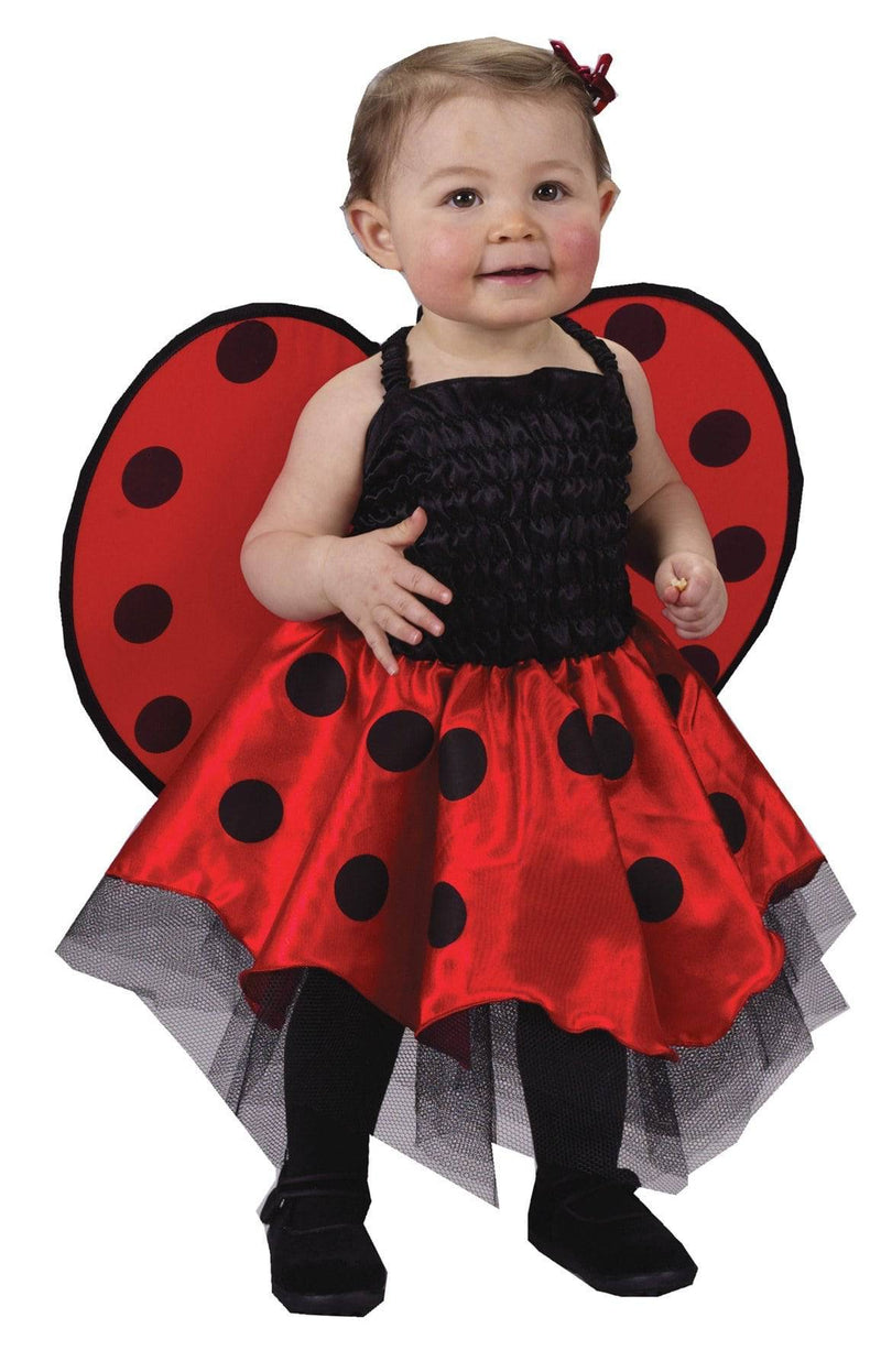 Fun World Lady Bug Theme Party Infant Fancy Costume - Costume Arena