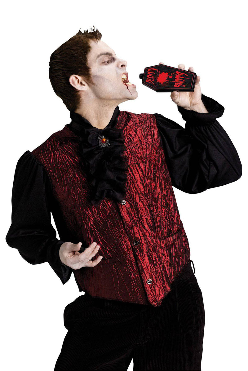Fun World Men's Drinking Dracula Theme Adult Costume - Costume Arena