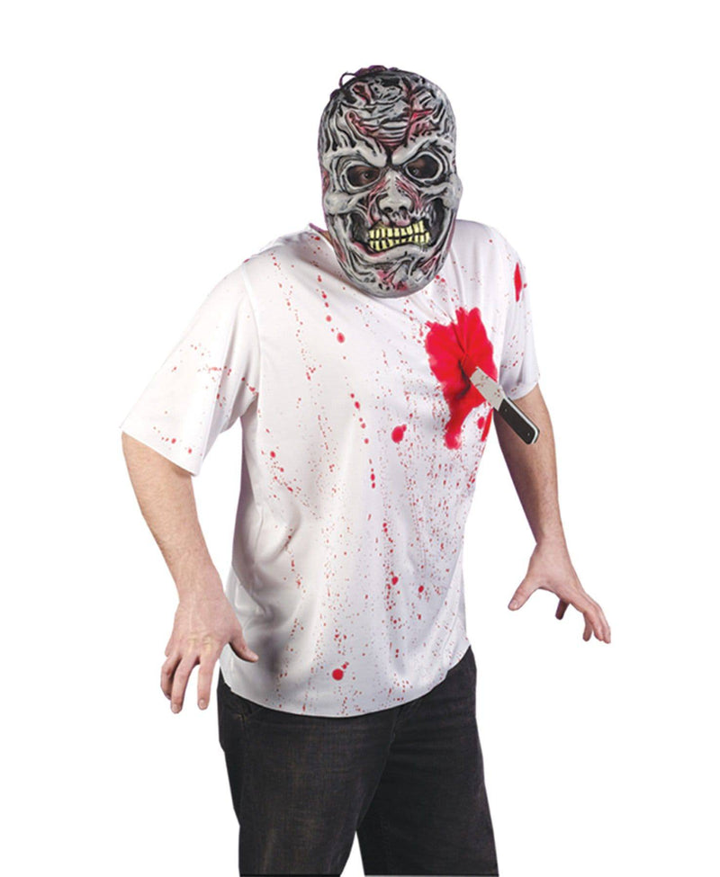 Fun World Men's Horror Spoof Knife Theme Party Costume - Costume Arena