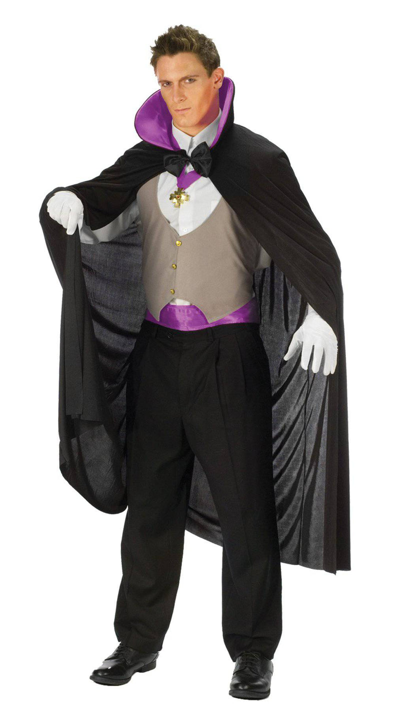 Fun World Men's Vampire Deluxe Vampire Party Costume - Costume Arena