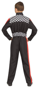 Fun World Race Car Driver Career Kid Fancy Costume - Costume Arena