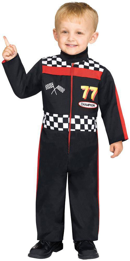 Fun World Toddler Race Car Driver Party Fancy Costume - Costume Arena