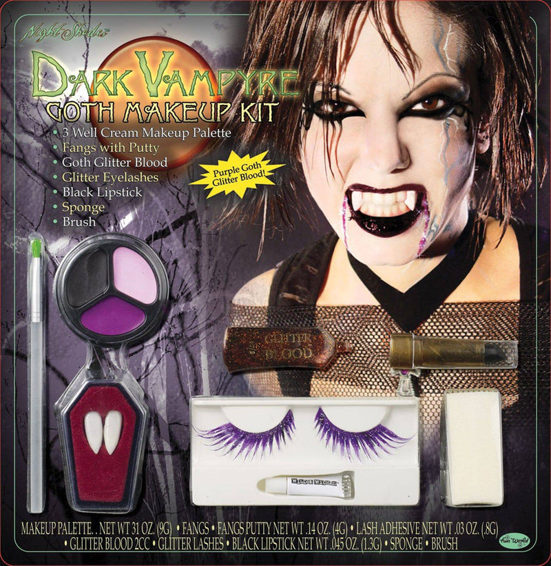 Fun World Vampire Makeup Kits Scary Party Accessory - Costume Arena