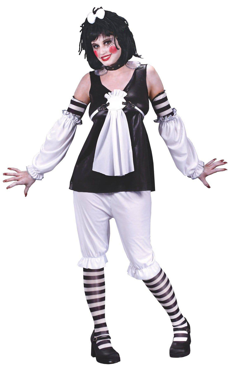 Fun World Women's Scary Goth Ann Theme Party Costume - Costume Arena