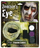 Fun World Zombie Eye Makeup Kit Without Eye Accessory - Costume Arena