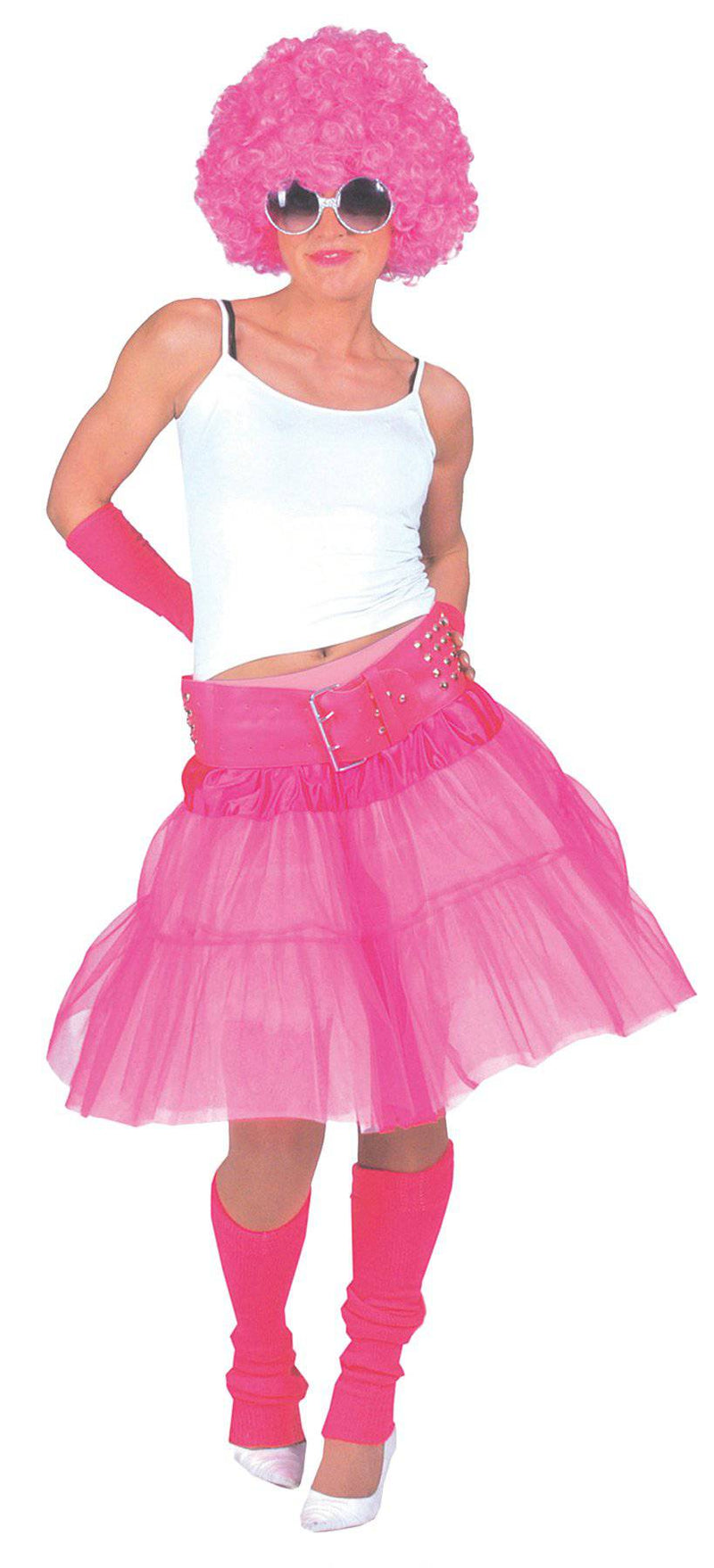Funny Fashion Material Girl Skirt Theme Costume Accessory - Costume Arena