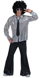 Funny Fashion Men's Groovy Disco Pants Costume Accessory - Costume Arena