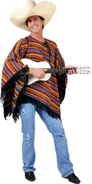 Funny Fashion Men's Poncho Diego Outfit Theme Costume - Costume Arena