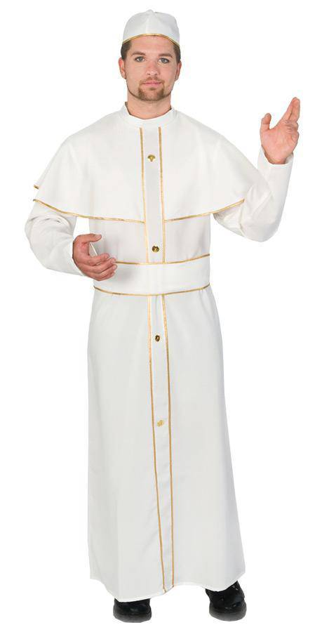 Funny Fashion Men's Religious Holy Pope Theme Costume - Costume Arena