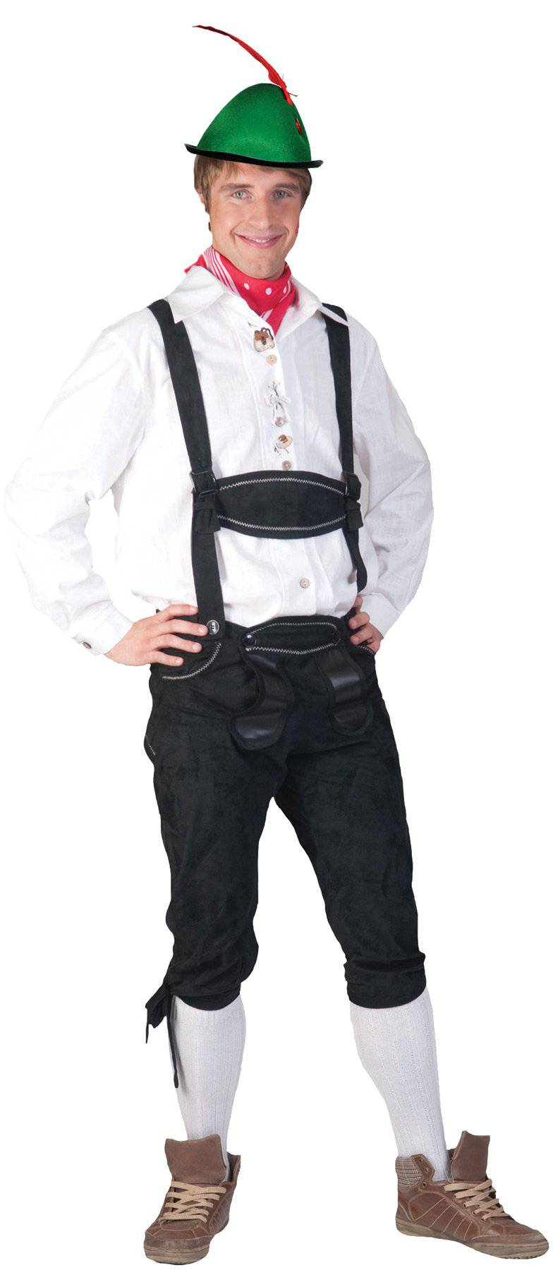 Funny Fashion Men's Tyrolean Shirt Theme Party Costume - Costume Arena