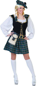 Funny Fashion Women's Sassy Scottish Lass Theme Costume - Costume Arena