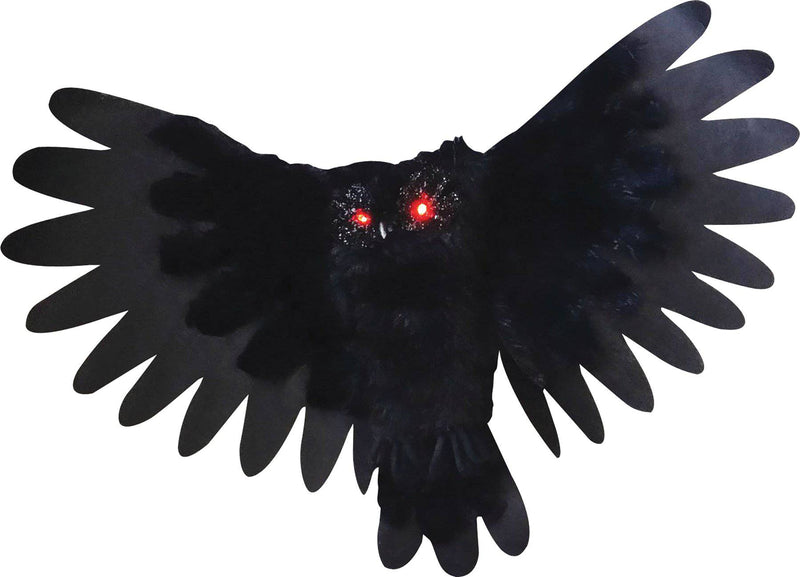 "Gemmy (Sun Star) 35"" Animated Owl Party Halloween Decorations - Costume Arena"