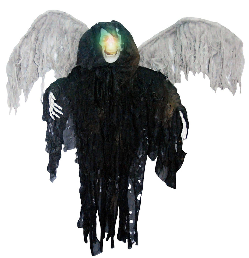 Gemmy (Sun Star) Hanging Winged Reaper Halloween Decorations - Costume Arena