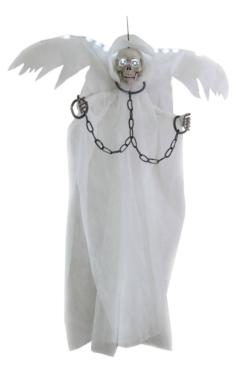 Gemmy (Sun Star) Horror Winged Reaper In Chains Decoration - Costume Arena