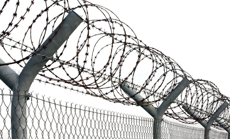 Gemmy (Sun Star) Razor Wire Theme Party Halloween Decorations - Costume Arena