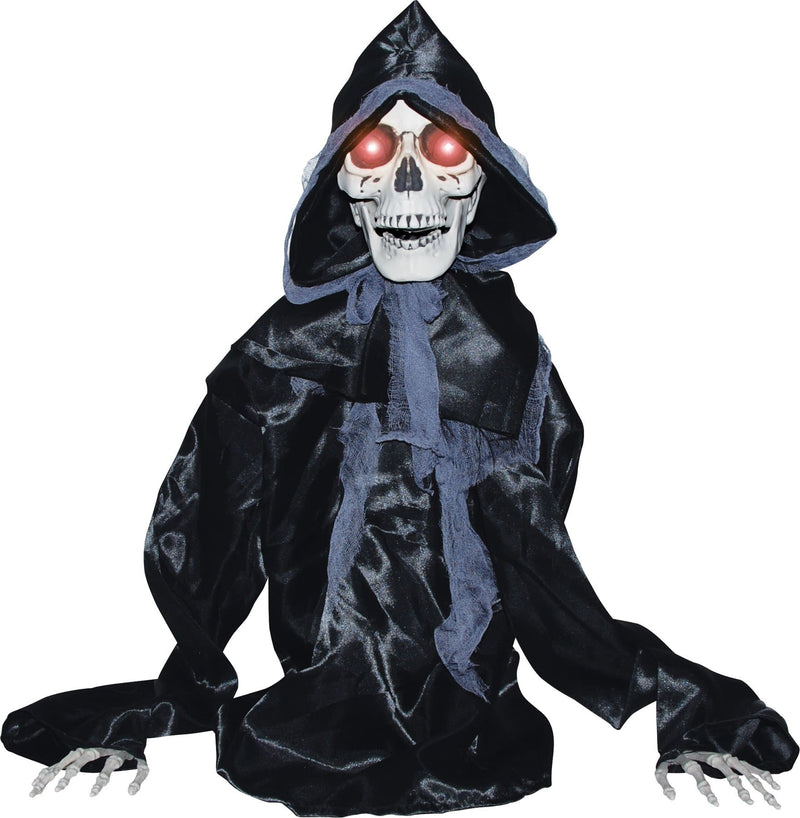 Gemmy (Sun Star) Rising Black Reaper Halloween Decorations - Costume Arena