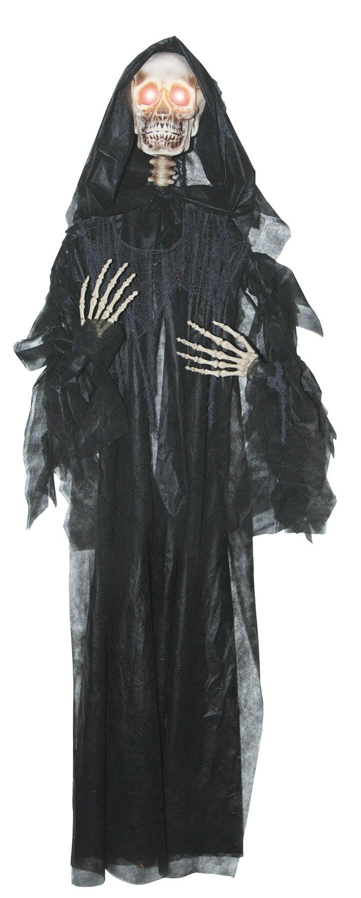 Gemmy (Sun Star) Scary Light Up Reaper Hanging Decorations - Costume Arena